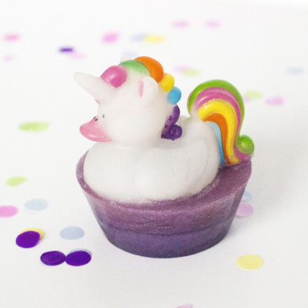 Unicorn Duck in Soap